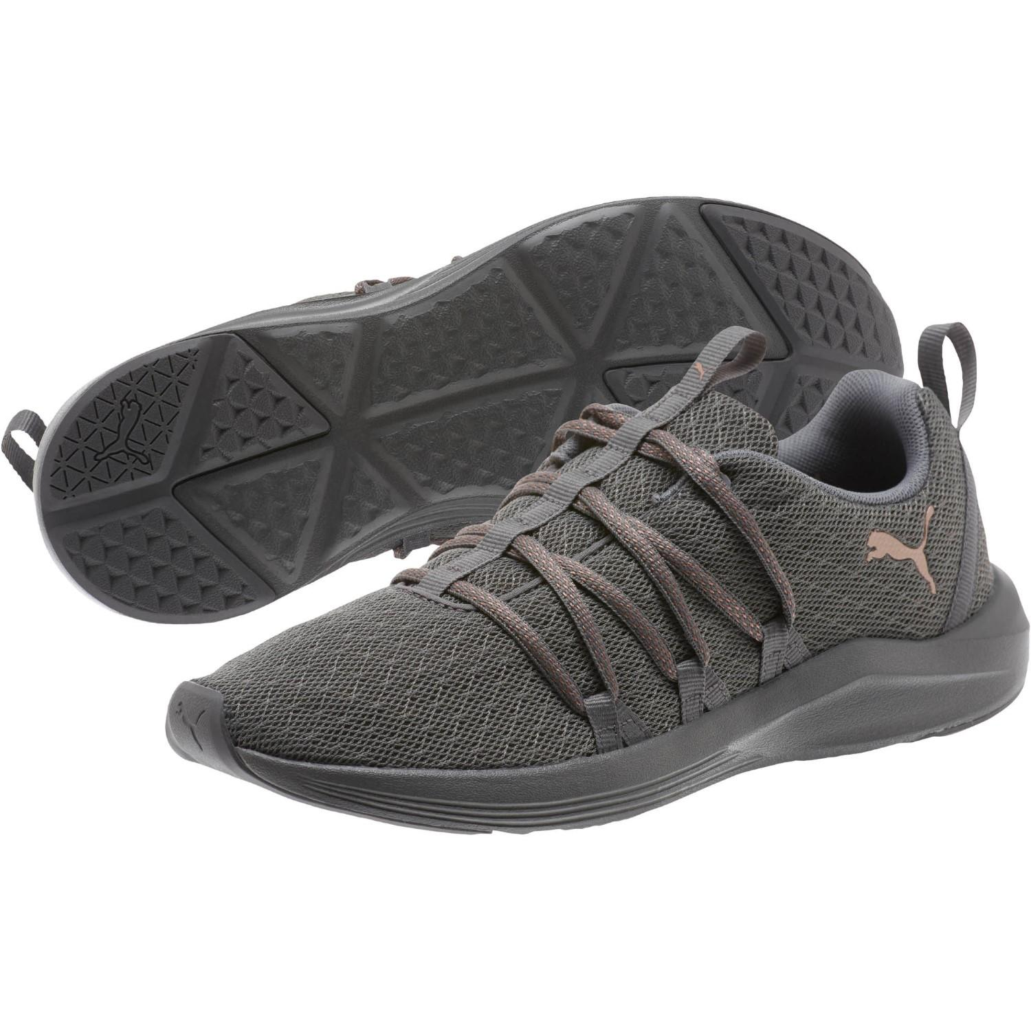 c3a1fdf2fd4 PUMA. Women s Gray Prowl Alt Knit Mesh Training Sneakers From Finish Line