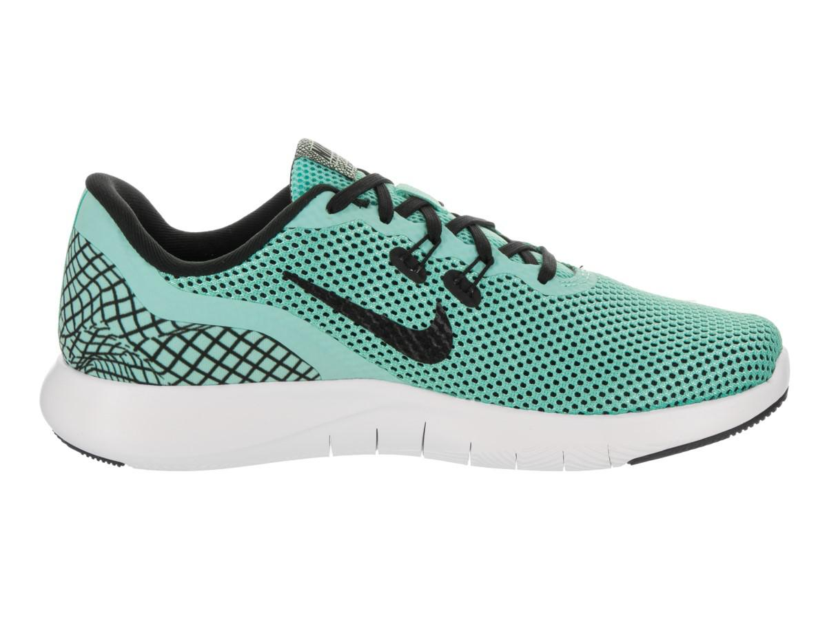 best service 68468 a0700 Nike Flex Trainer 7 Print Aurora Green black White Training Shoe 10 ...