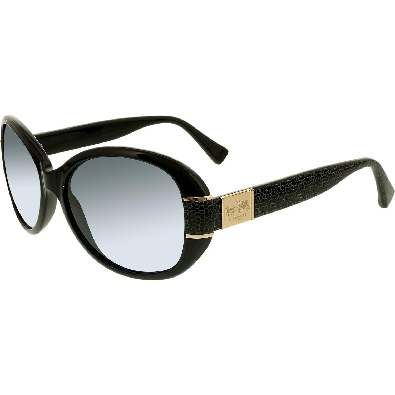 e1ea5e1aeb80 ... coupon code for lyst coach blaine hc8115 500217 57 black oval sunglasses  in black c41b6 ae59d