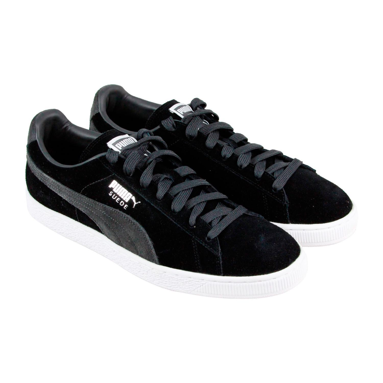 adb7387c583 Lyst - Puma Suede Classic + Black Dark Shadow Mens Lace Up Sneakers ...