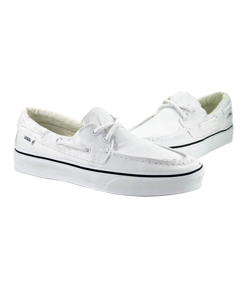792f9ef206c Lyst - Vans Unisex Zapato Del Barco Comfort Boat Shoes Truewhite M13 ...