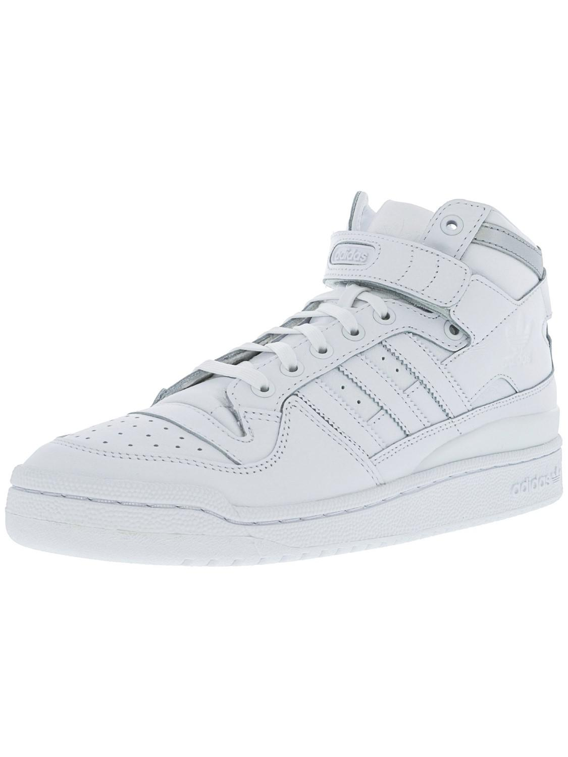 separation shoes 20a4c 5e53f adidas Forum Mid Refined Footwear White   Silver Metallic Mid-top ...