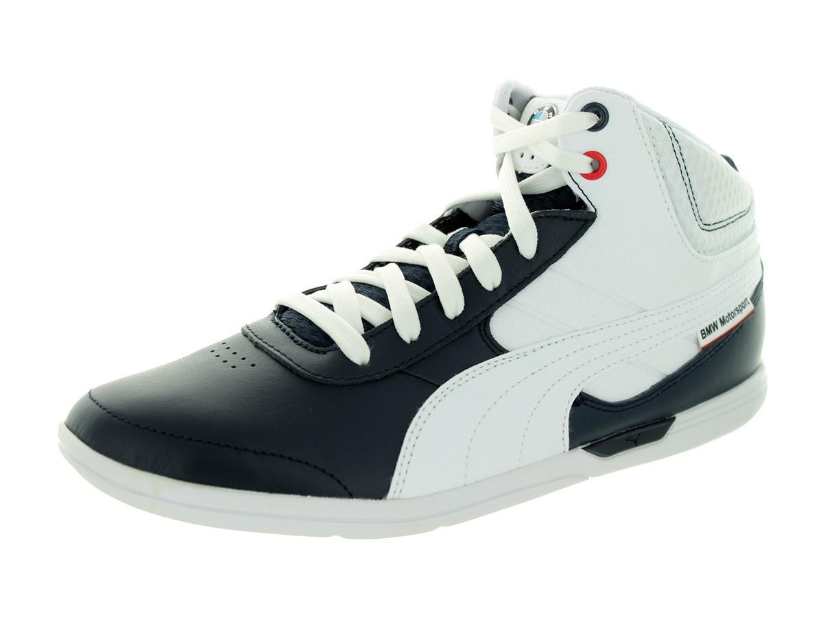 Lyst - PUMA Bmw Ms Mch Mid Bmw Team Blue white Casual Shoe 10.5 Men ... 669c4117c