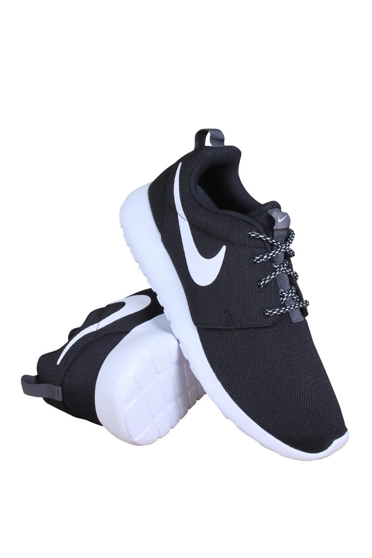 02feec5184b5 Lyst - Nike 844994-002 Women W Roshe One Black White Dark Grey