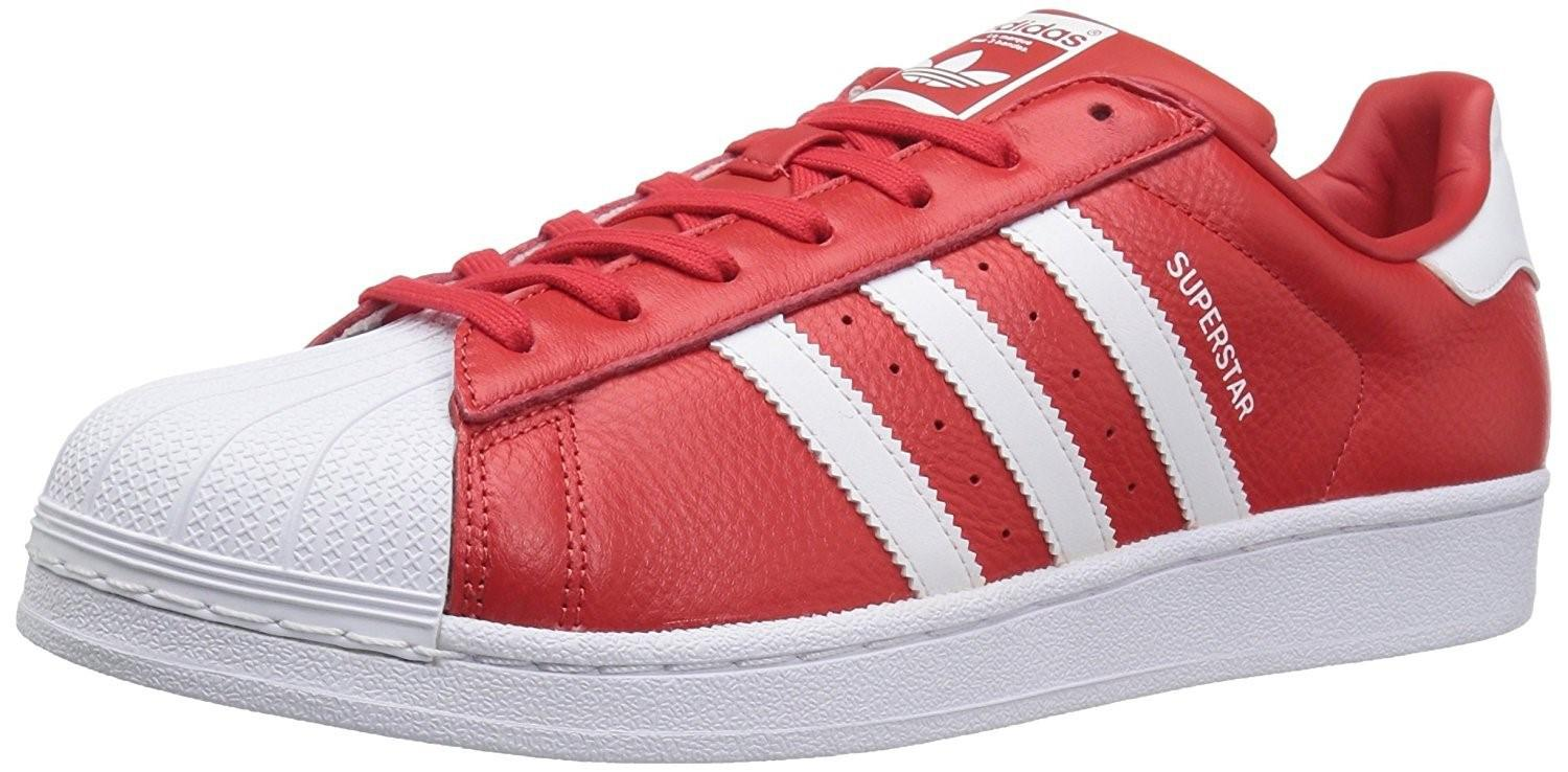 dec125e0620 Lyst - Adidas Superstar Foundation Shoes in Red for Men