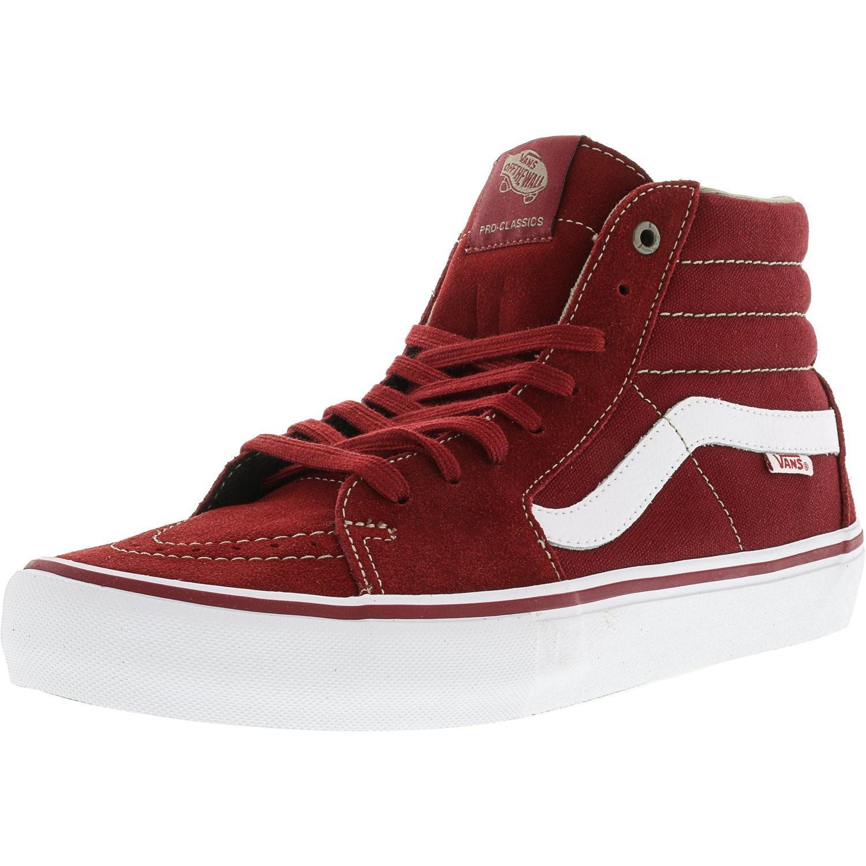 0c110b8fe8 Lyst - Vans Sk8-hi Pro Ankle-high Canvas Skateboarding Shoe - 11m in ...
