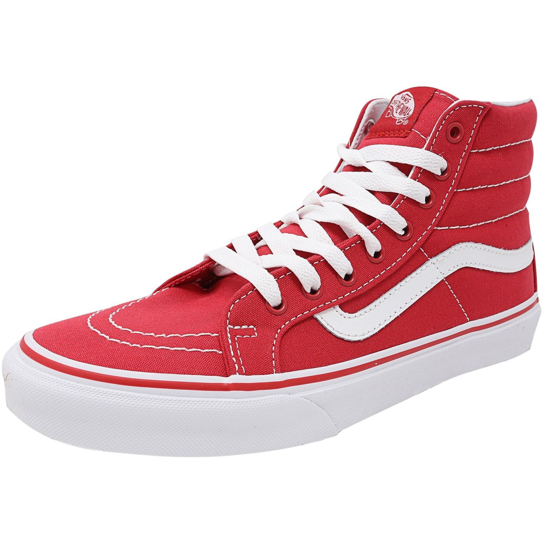 fb38742ef9de6 Lyst - Vans Sk8-hi Slim Ankle-high Canvas Skateboarding Shoe - 9.5m ...