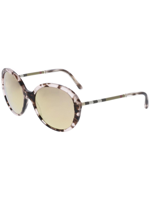 7738f7d68fed Burberry. Women s Pink Dark Mirror Rose Gold Round Ladies Sunglasses  Be4239q-36637j-57