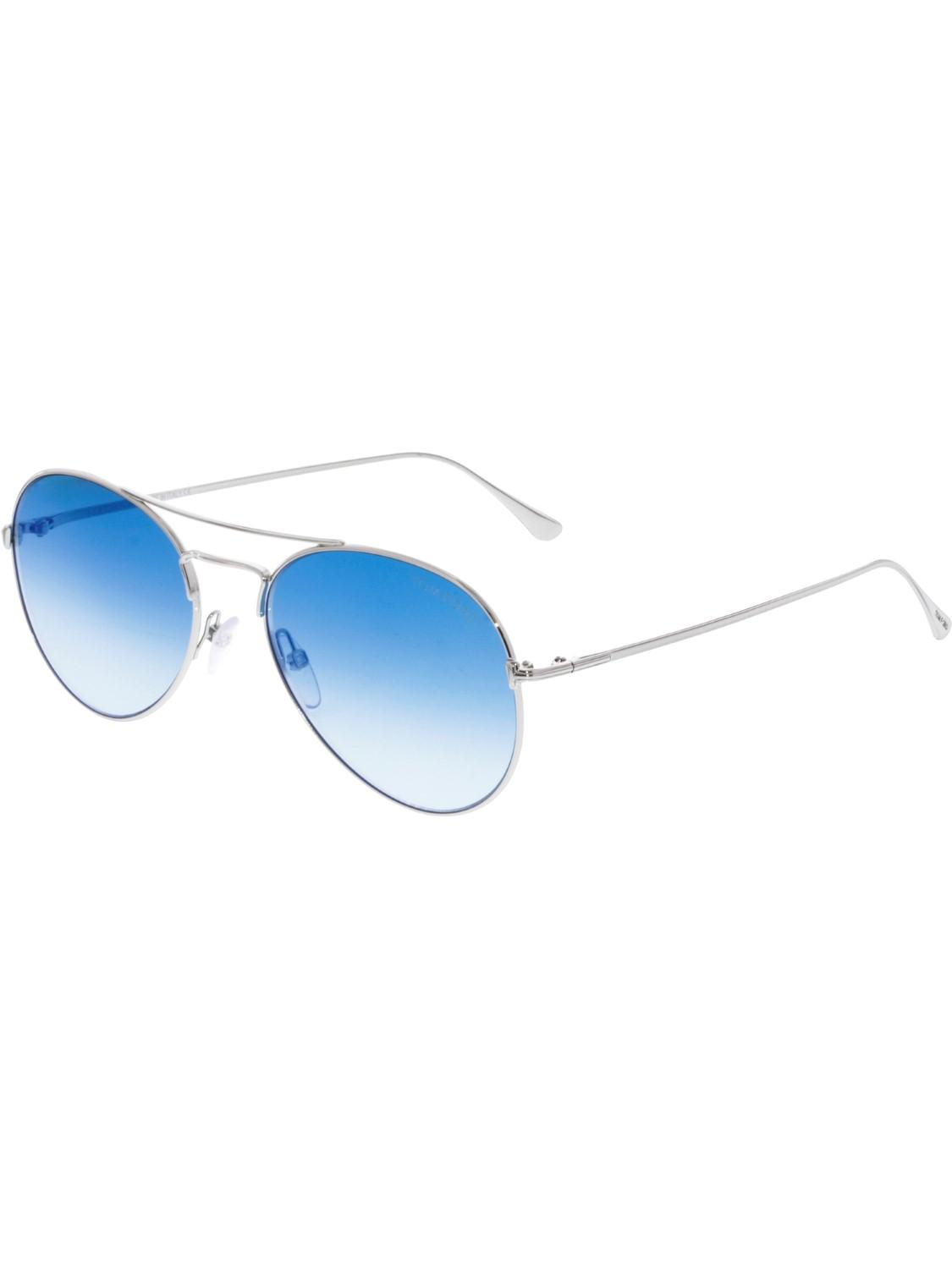 91c2fac432a Lyst - Tom Ford Gradient Ace-02 Ft0551-18x-55 Aviator Sunglasses in ...