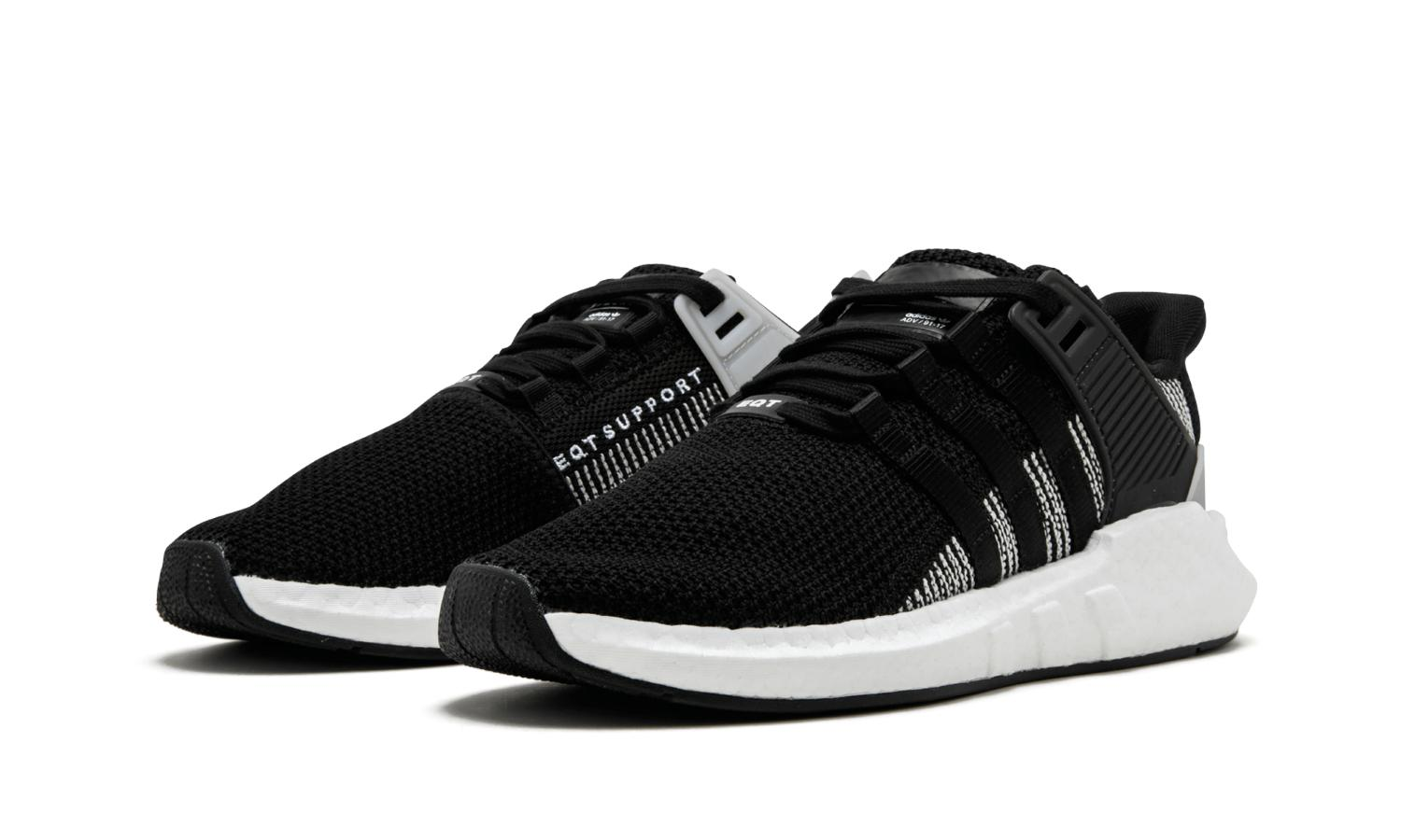 discount adidas eqt support 93 17 core black white by9509