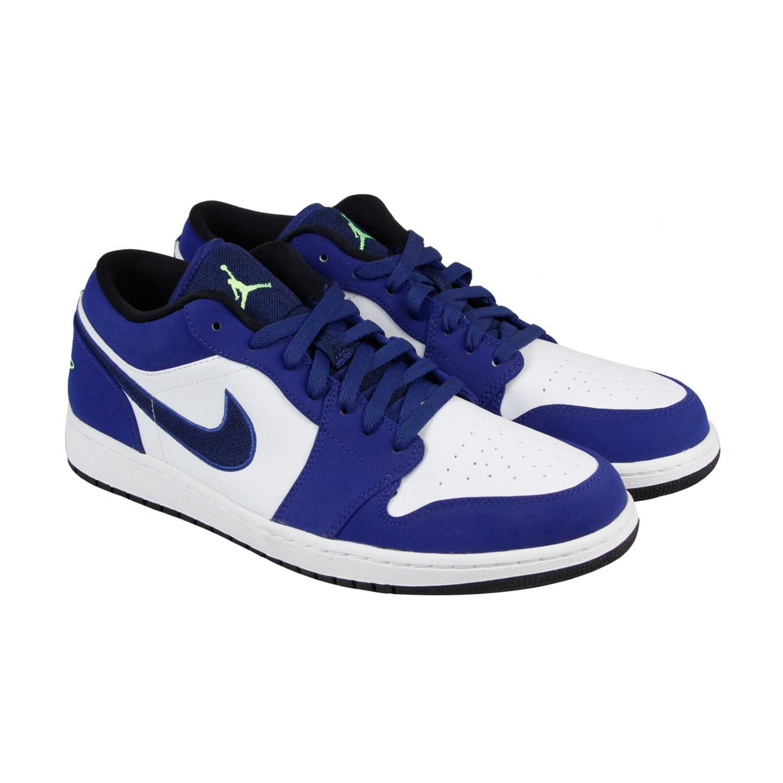 bebfeb841260 Lyst - Nike Air Jordan 1 Low Insignia Blue Ghost Green Wolf Grey ...