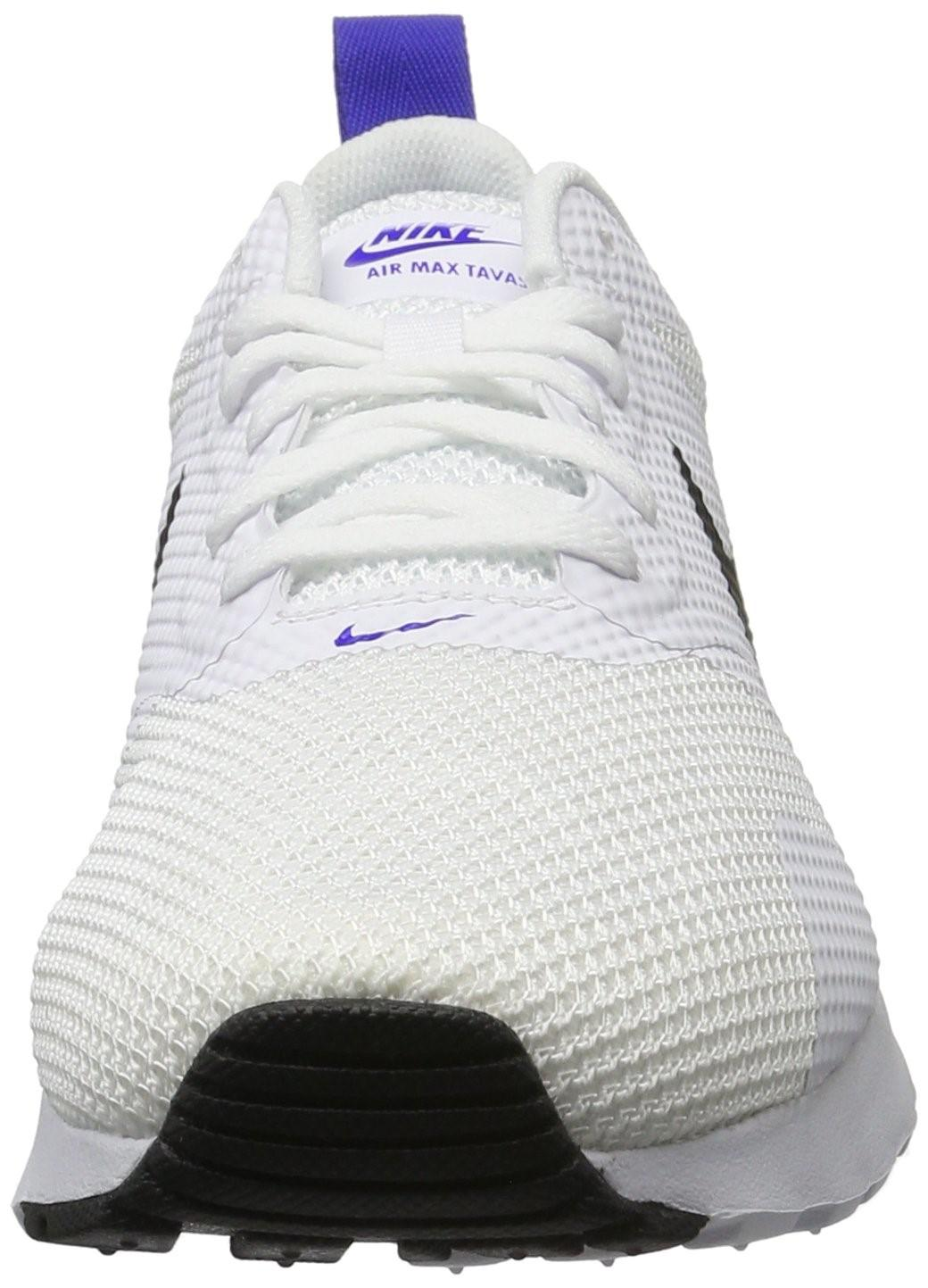 new style a6f7f 25dfc Lyst - Nike Air Max Tavas White black Paramount Blue Running Shoe ...