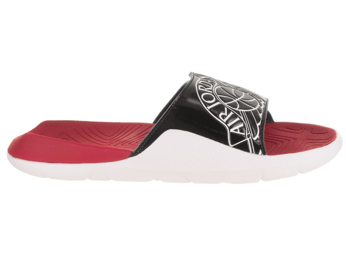 0588883cf9637 Lyst - Nike Nike Aa2517-001   Jordan Hydro 7 Slide Black white gym ...
