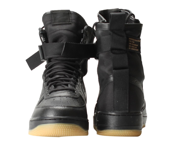 01e7d4928d7 Lyst - Nike Sf Af1 Air Force 1 Special Field Triple Black gum Shoes ...