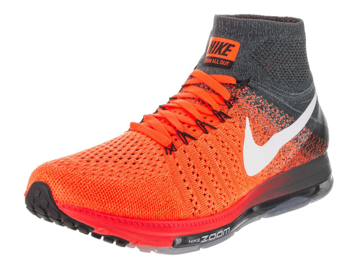 d11c8456cf40 Lyst - Nike Zoom All Out Flyknit Total Orange white Anthracite ...