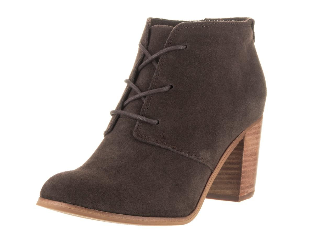 bbe4021e173 Lyst - TOMS Lunata Lace-up Chocolate Casual Shoe 7.5 Women Us in Brown