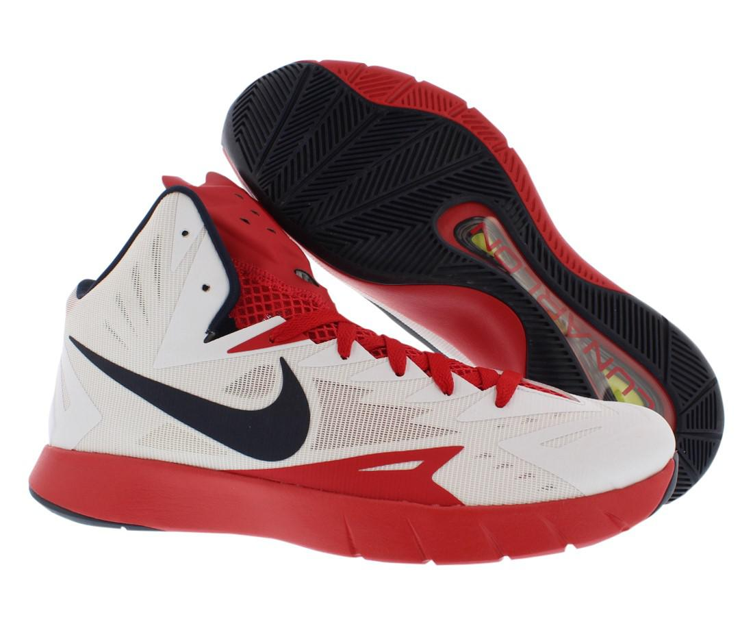 3977a58844c6 Lyst - Nike Lunar Hyperquickness Basketball Shoes Size 11.5 in Red ...