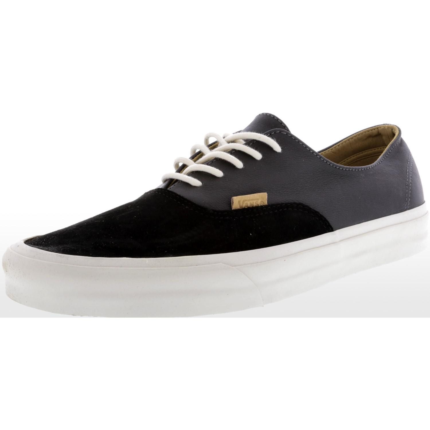 212a8352b94d Lyst - Vans Authentic Decon Pig Suede And Leather Ankle-high ...