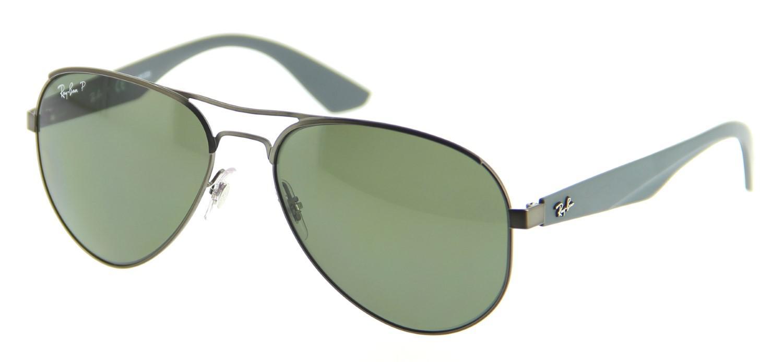 e2f0bb5106 Ray-Ban. Men s 0rb3523 029 9a 59 Matte Gunmetal polar Green Highstreet  Sunglasses