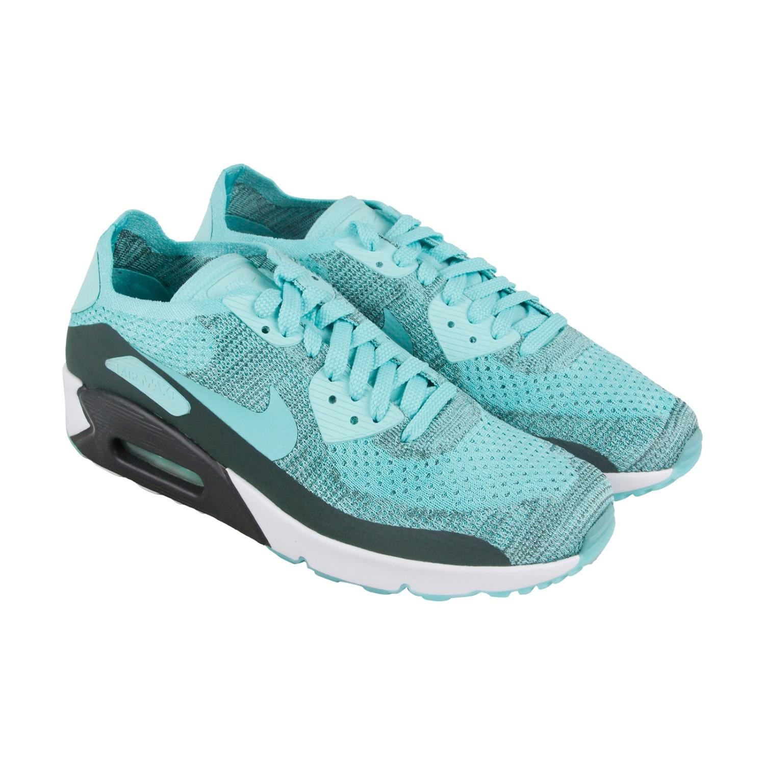 013f41c24cb00f Lyst - Nike Air Max 90 Ultra 2.0 Flyknit Running Shoes Hyper Turq ...