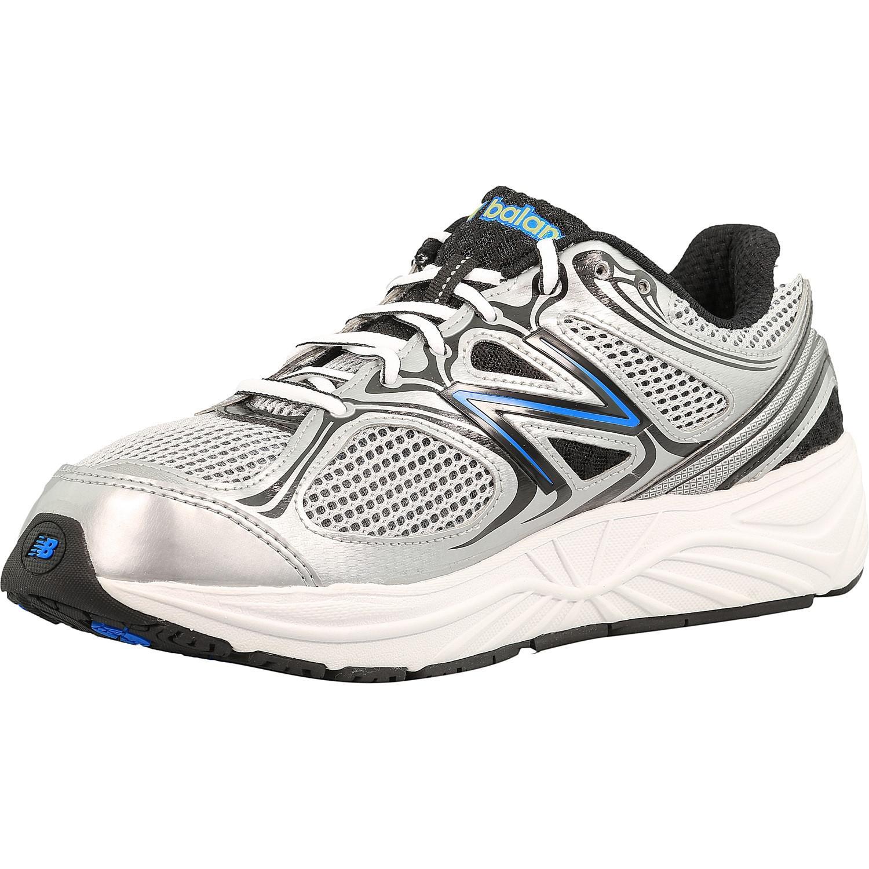 5da4d62be49043 Lyst - New Balance M840 Sb2 Ankle-high Mesh Running Shoe in White ...