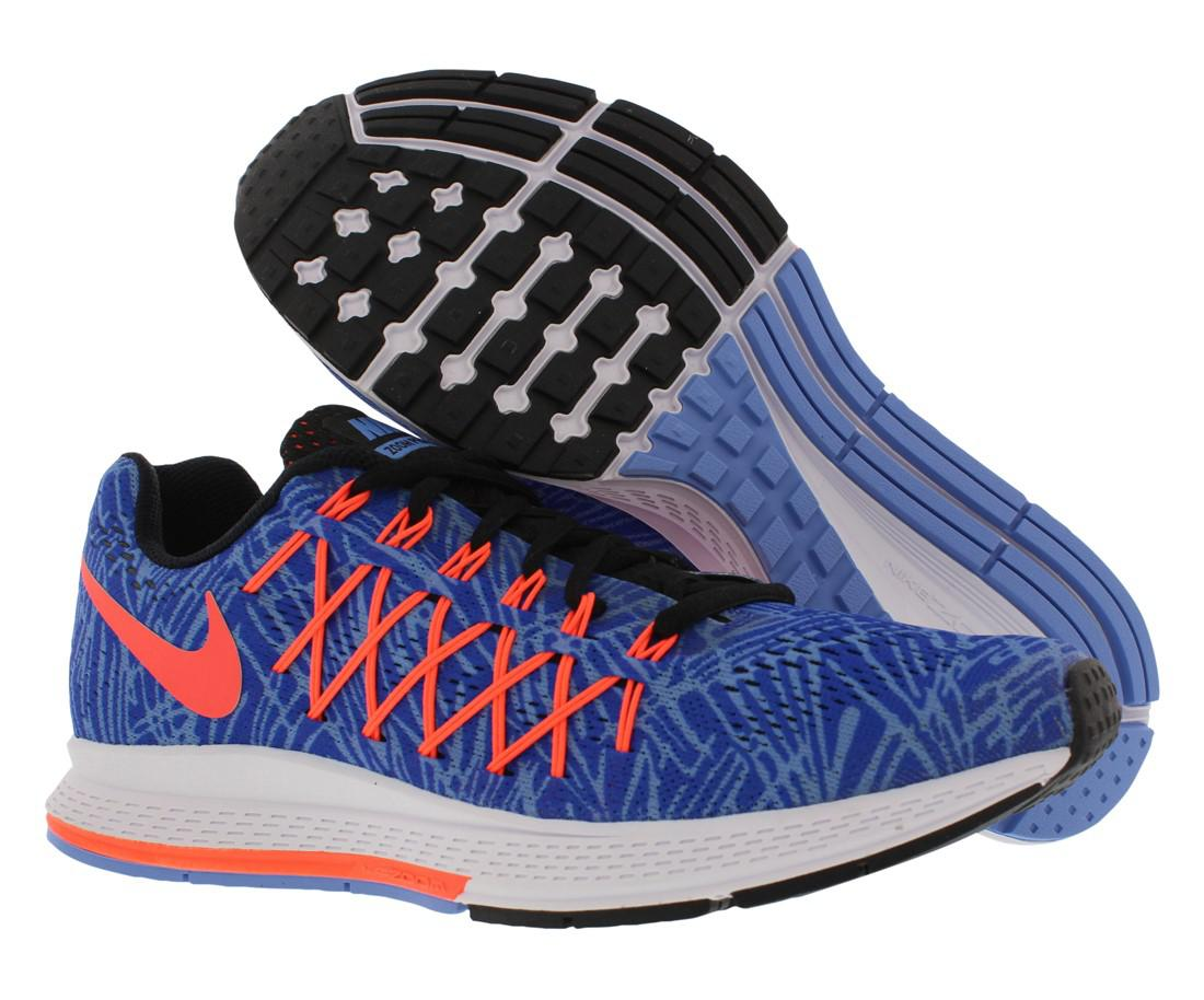 e1fe4857bbc Lyst - Nike Air Zoom Pegasus 32 Print Running Shoes in Blue for Men