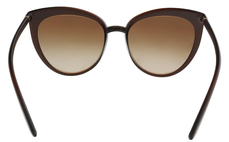 410b8e715a Lyst - Dolce   Gabbana Dg6113 315913 Cat Eye Sunglasses in Brown