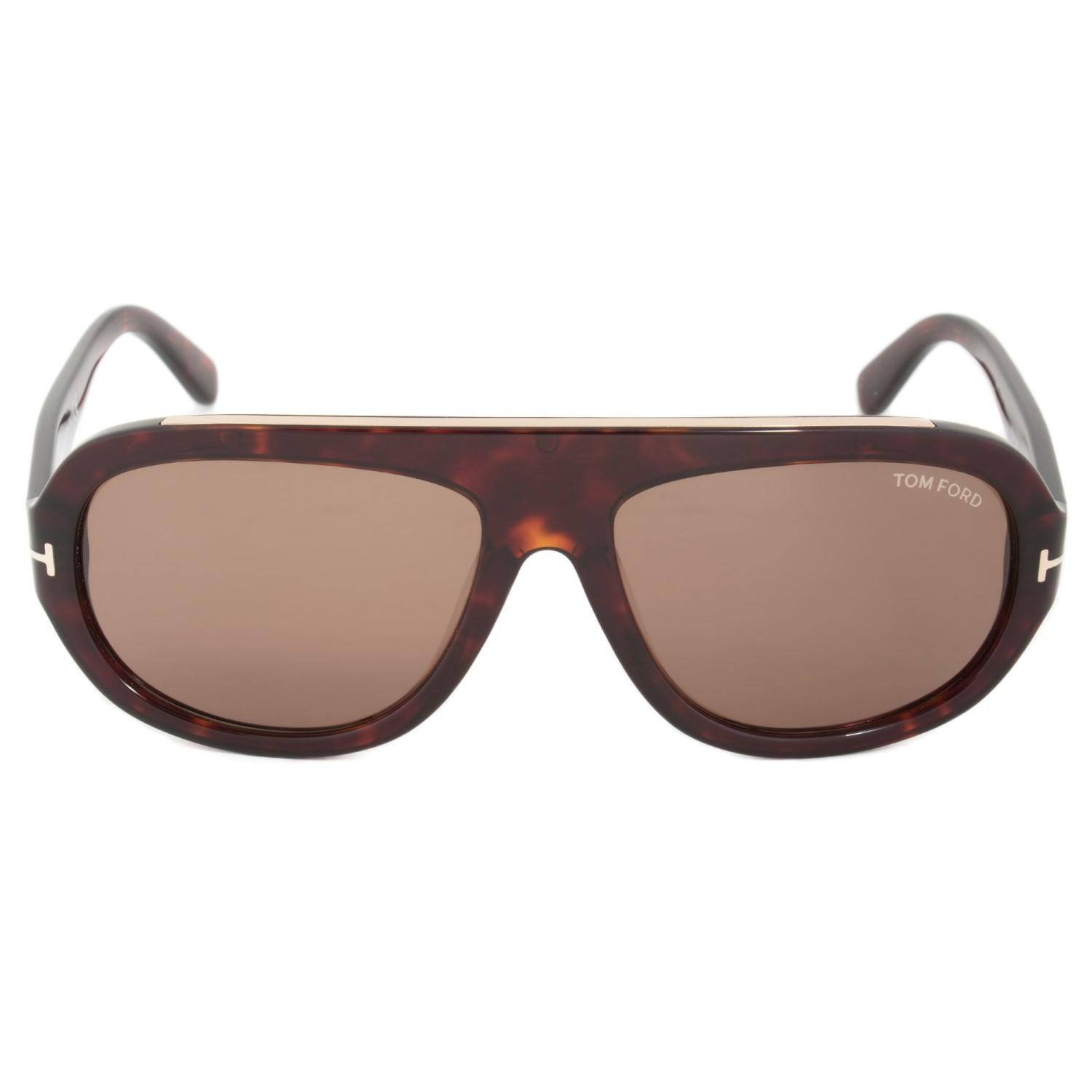 5fe3f73330 Lyst - Tom Ford Ft0444 Hugo Sunglasses  brown in Brown - Save 29%