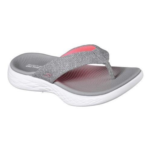 75853b104 Lyst - Skechers On The Go 600 Preferred Thong Sandal