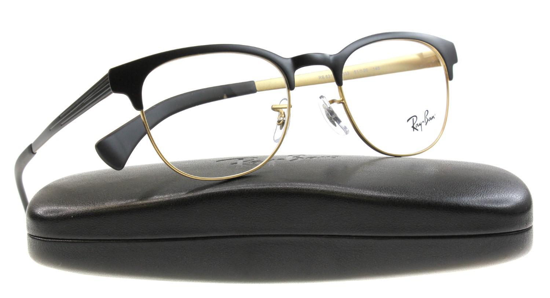 e6cd1d0b037 Lyst - Ray-Ban Eyeglasses Optical Rx 6317 2832 Top Black On Matte ...