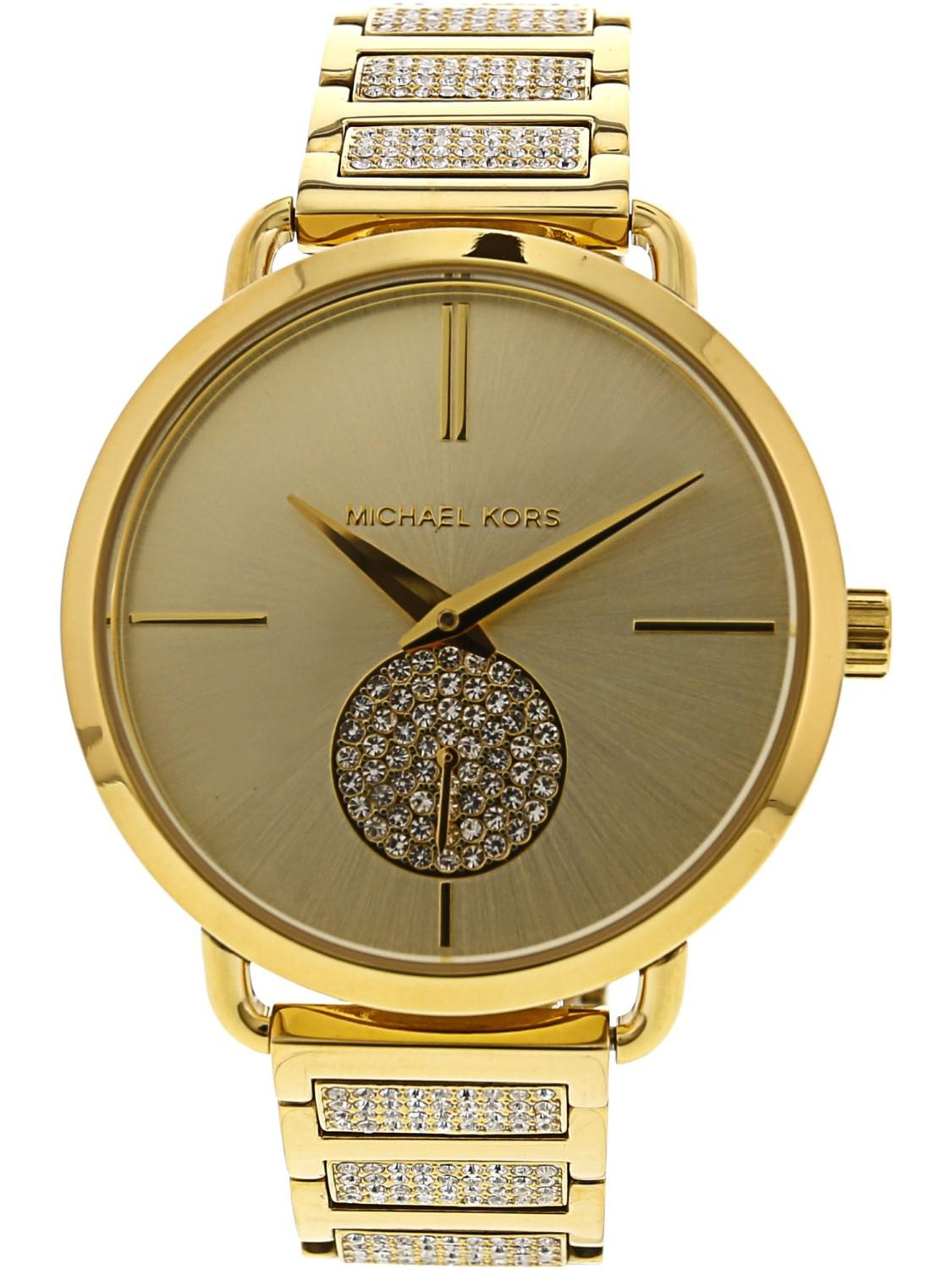 d7b05dc46221 Michael Kors - Metallic Portia Mk3852 Stainless-steel Swiss Parts Quartz  Fashion Watch - Lyst. View fullscreen