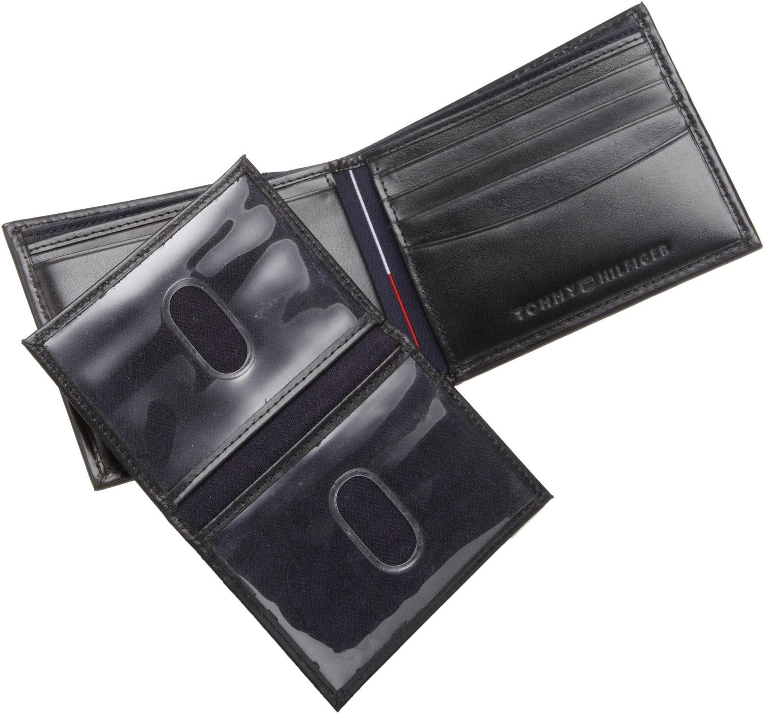 7d071ae1166 Tommy Hilfiger - Black Leather Cambridge Passcase Wallet With Removable  Card Holder for Men - Lyst. View fullscreen