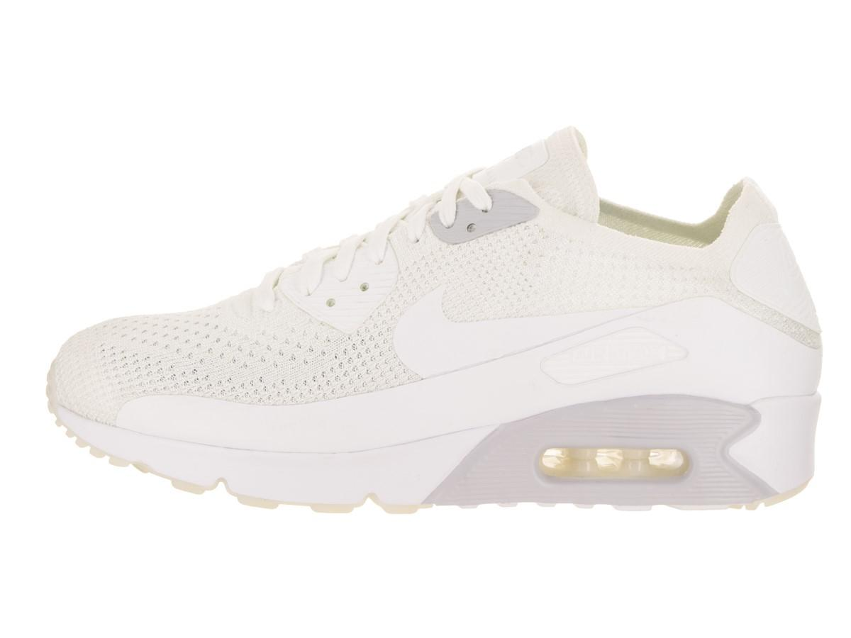 24a26860ebe Lyst - Nike Air Max 90 Ultra 2.0 Flyknit White white Pure Platinum ...