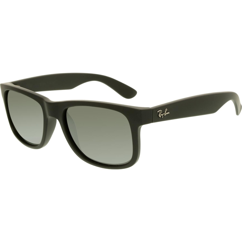 Lyst - Ray-Ban Justin Rb4165-622 6g-51 Black Wayfarer Sunglasses in ... b1649fdfc8bc8