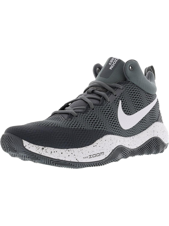 9db26da08efd Lyst - Nike Zoom Rev Cool Grey   Dark White Ankle-high Basketball ...