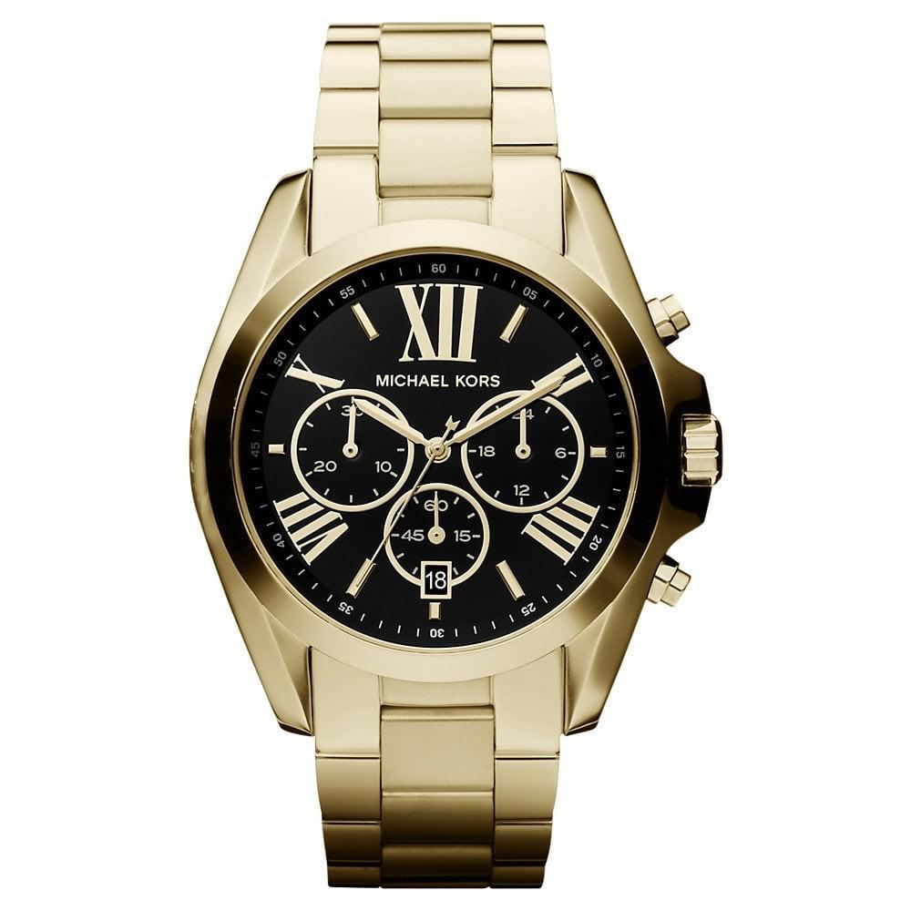 7c60d2967c3d Michael Kors - Black Mk5739 Bradshaw Stainless Steel Watch - Lyst. View  fullscreen