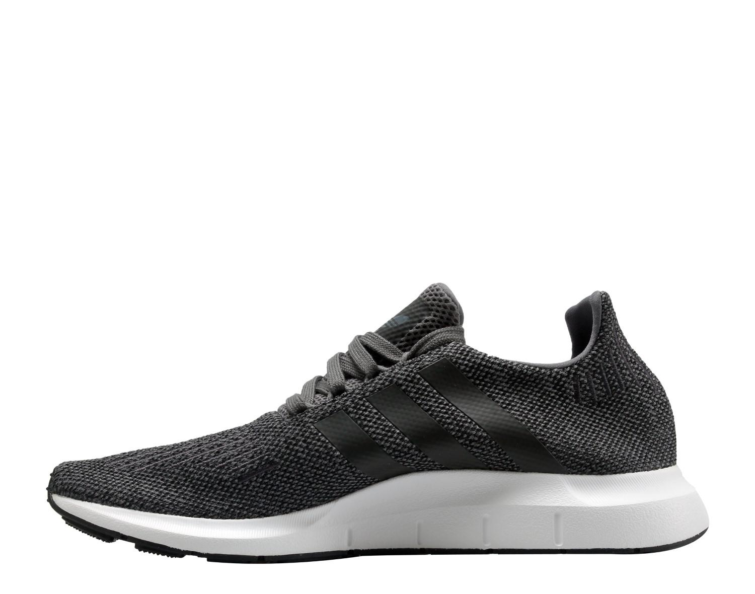 2c2f82bb0 Lyst - adidas Originals Swift Run Four black white Running Shoes ...