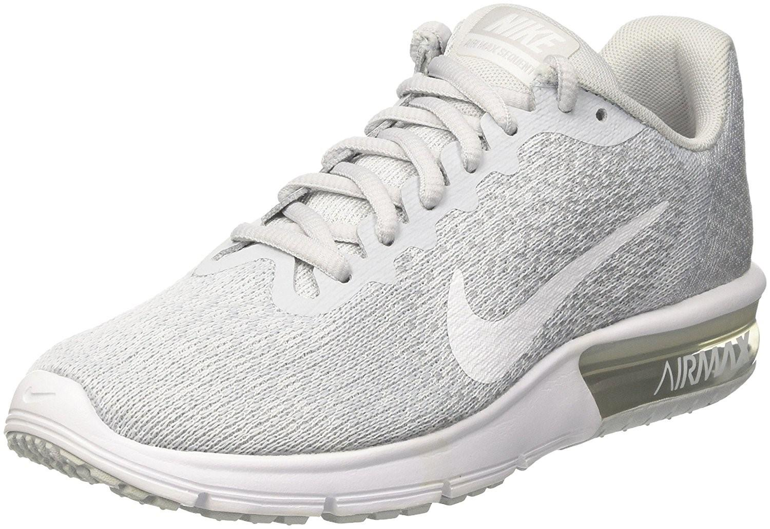 ac24034c366 Lyst - Nike Air Max Sequent 2 Pure Platinum white wolf Grey Running ...