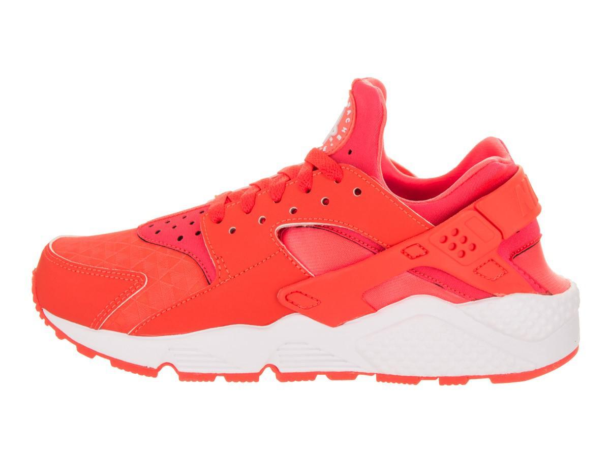 43f7338265ea Lyst - Nike 634835-608  Air Huarache Run Bright Crimson white Womens ...
