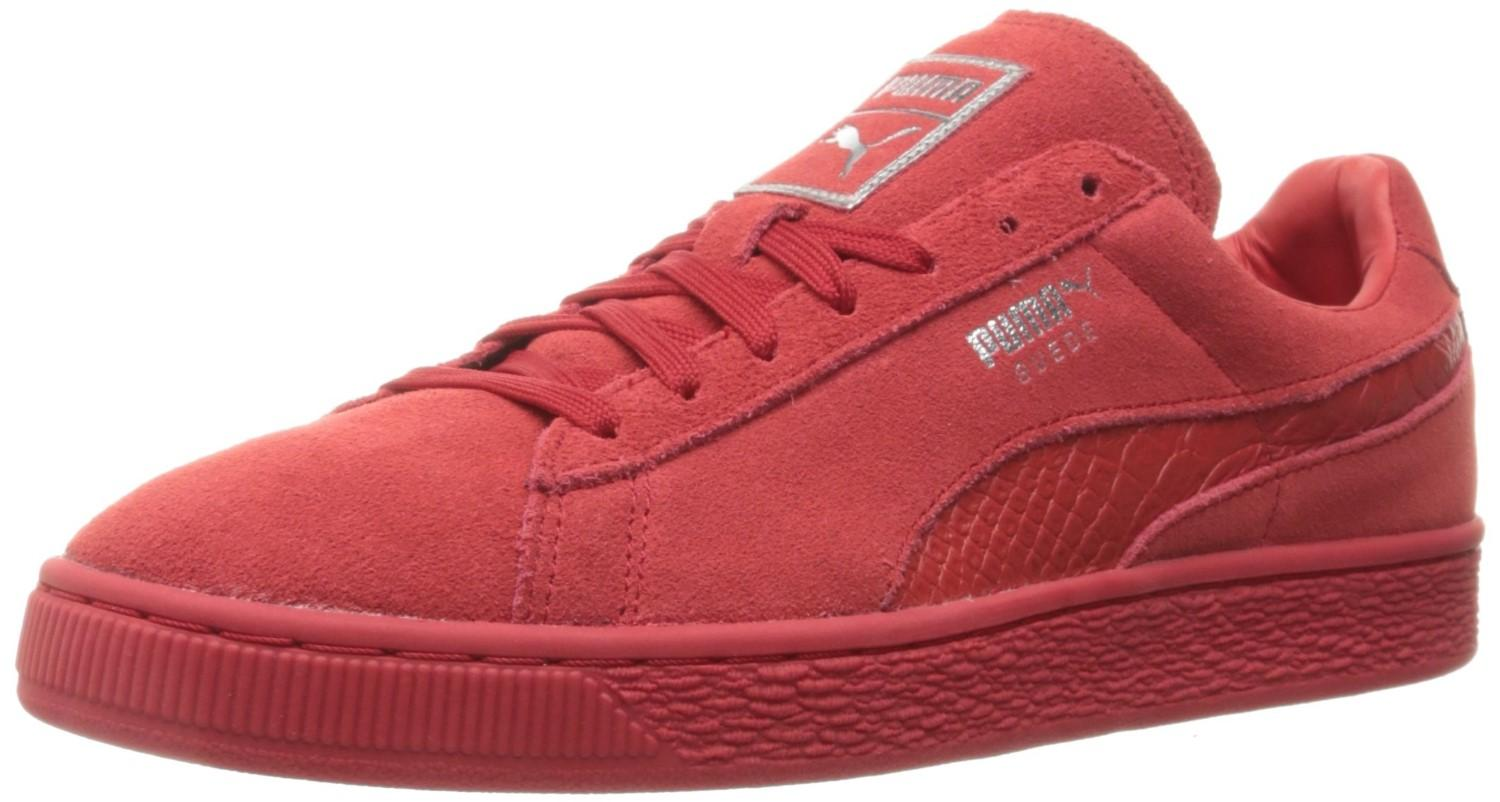 lowest price ad591 cfbb2 Lyst - PUMA Suede Classic Mono Reptile Athletic & Sneakers ...