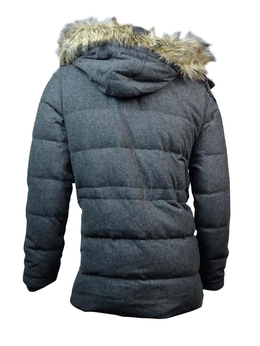 868f455ed70d1 Tommy Hilfiger - Blue Faux Fur Trim Down Coat (xxl for Men - Lyst. View  fullscreen