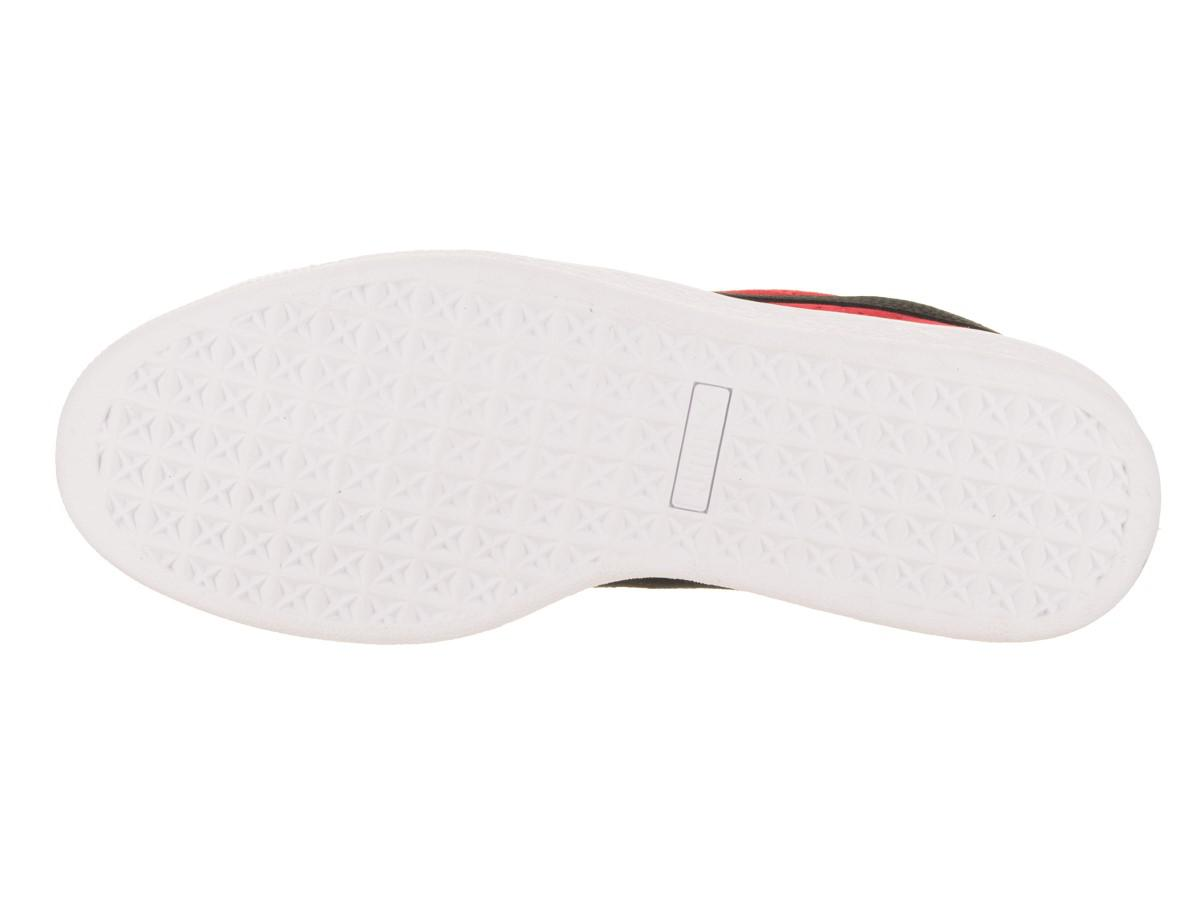 19eeae0342e Lyst - PUMA 363242-25  Suede Classic + Toreador- Black Sneaker (12 D ...