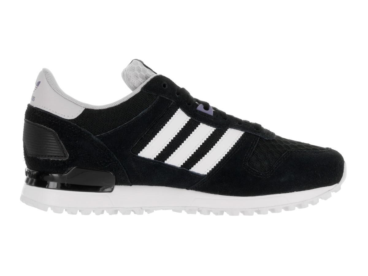 Lyst - Adidas Originals Zx 700 W Originals Cblack ftwwht icepurple ... ebd79cecfb6