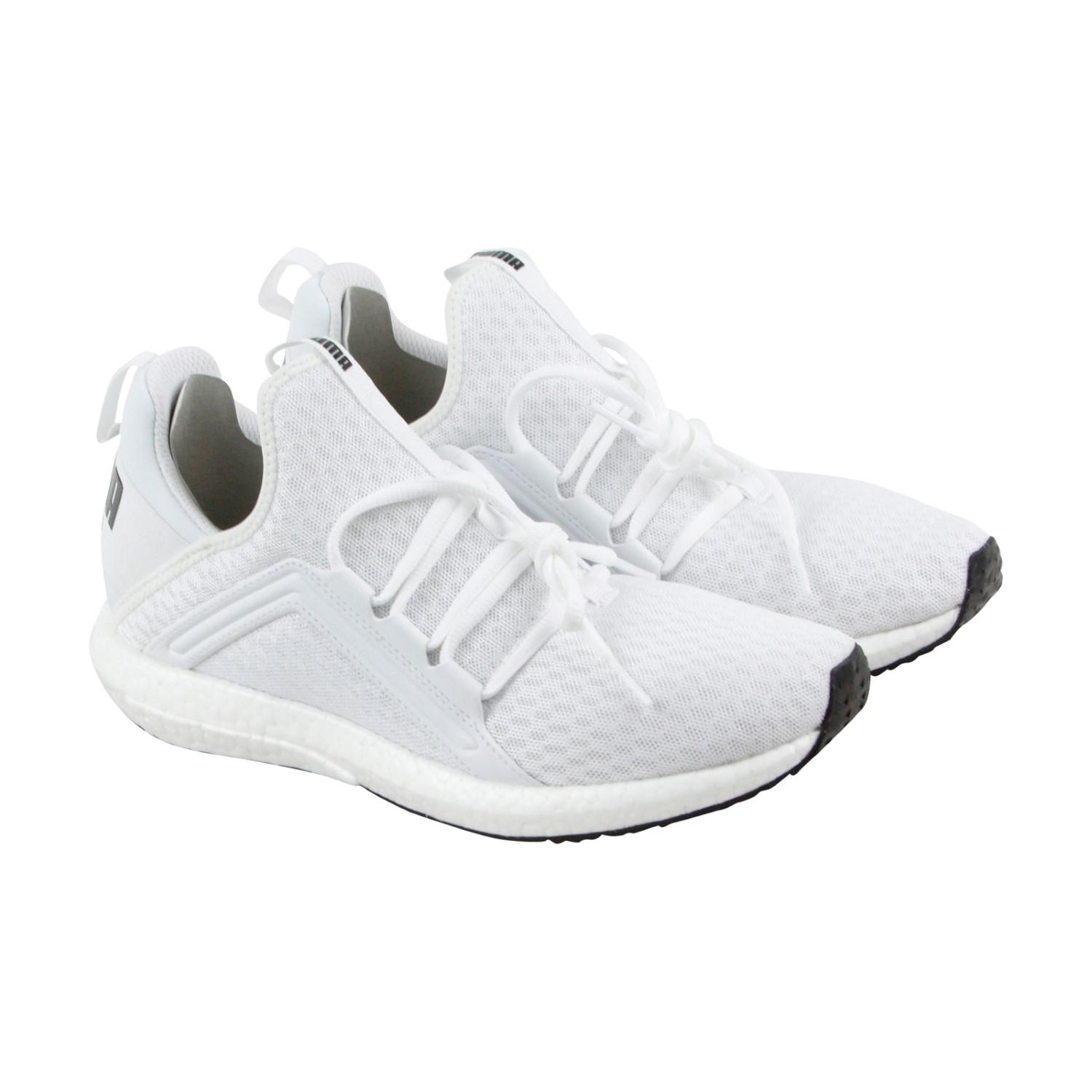 511dc3f9ff6 Lyst - Puma Mega Nrgy Black Athletic Running Shoes in White for Men