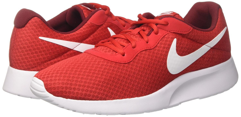 d7d6794dc18 Lyst - Nike 812654-616   Mens Tanjun Running Sneaker Black (univ Red ...