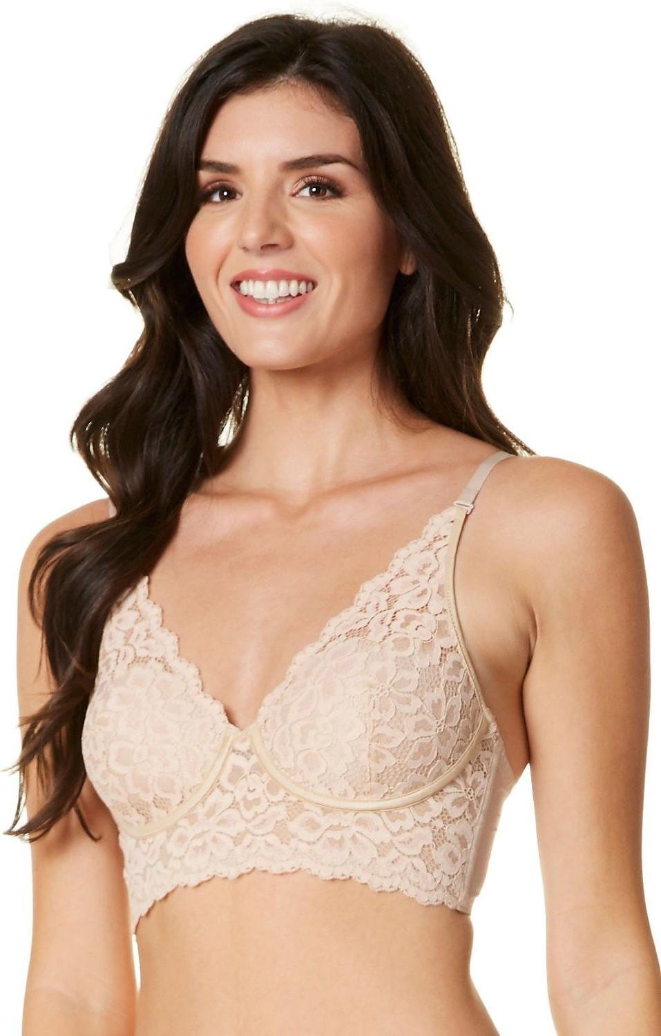 6100b046d Lyst - Maidenform Casual Comfort Wirefree Bralette Dm1188 in Natural ...
