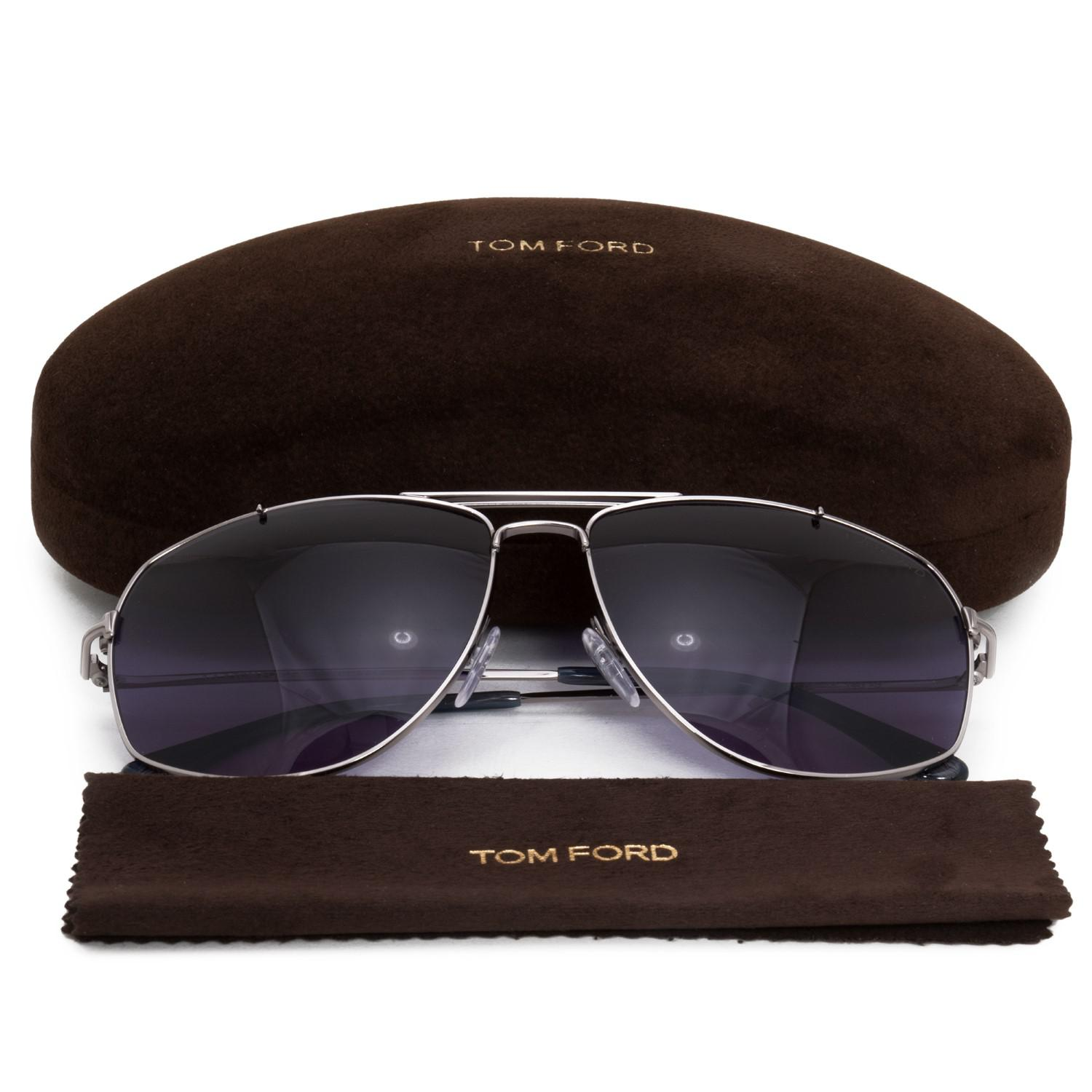 8a2cdc92c1 Lyst - Tom Ford Georges Aviator Sunglasses Ft0496 14v 59