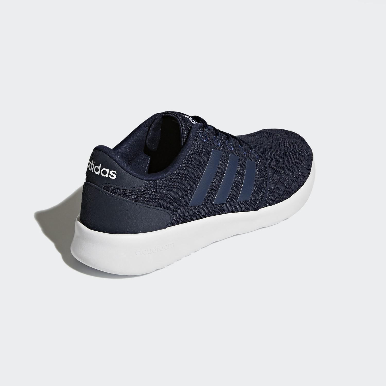 lyst adidas cloudfoam qt racer scarpe in blu