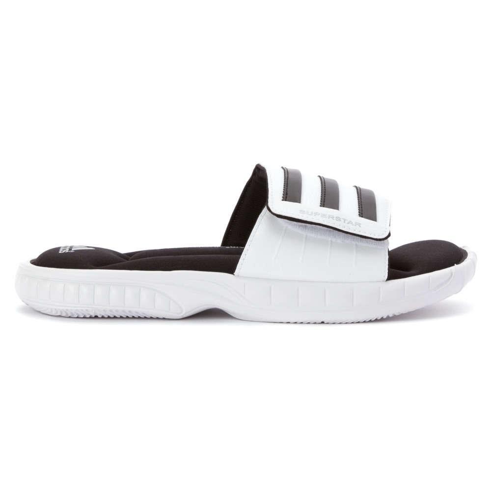 Lyst adidas superstar 3G Slide Sandal sandalias en blanco para los hombres