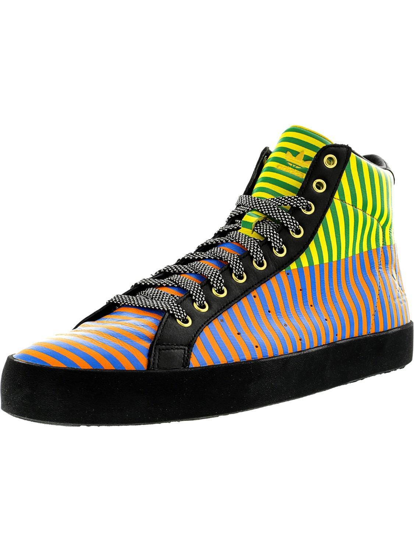 release date: 8936b 83a8e adidas -Black-Sun-Light-Orange-Rob-Laver-Vintage-Hi-Black-Sun-Light-Orange-High-top-Fashion-Sneaker-115m.jpeg